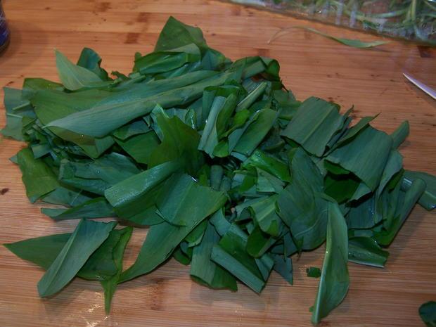 Bärlauch-Pesto - Rezept - Bild Nr. 7831