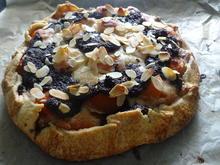 Crostata mit Aprikosen, Marzipan und Mohn - Rezept - Bild Nr. 7829