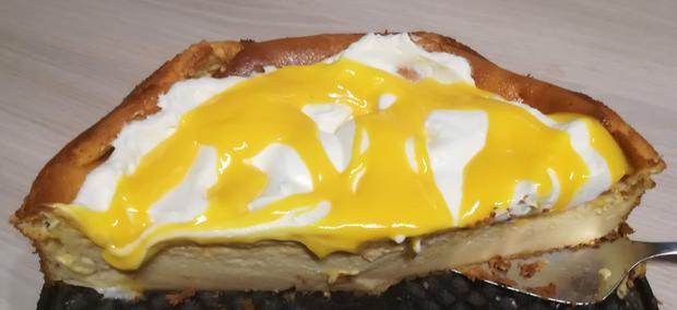 Eierlikör-Käsekuchen, schnelles Rezept ohne Boden - Rezept - Bild Nr. 2
