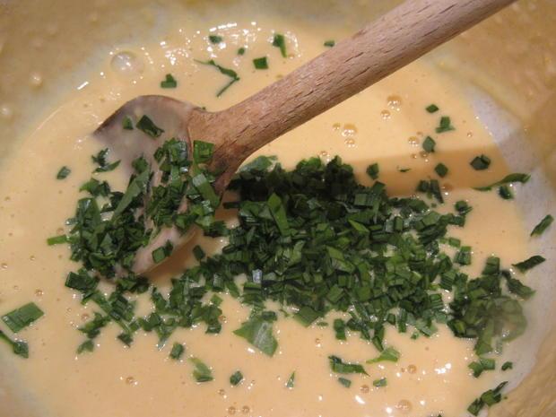 Pasta: Bärlauchspätzle mit Zwiebeln - Rezept - Bild Nr. 7835