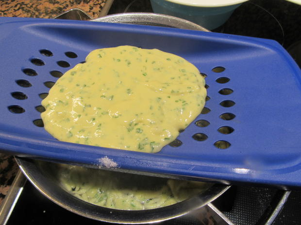 Pasta: Bärlauchspätzle mit Zwiebeln - Rezept - Bild Nr. 7836