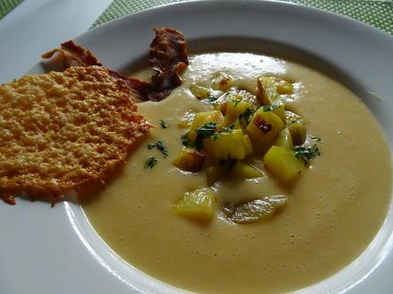 Kartoffel-Käse-Cremesuppe mit Einlage - Rezept - Bild Nr. 7833
