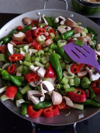 Gemüsepfanne - Rezept - Bild Nr. 7845