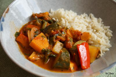 Zucchini-Süßkartoffel-Paprika-Curry - Rezept - Bild Nr. 2