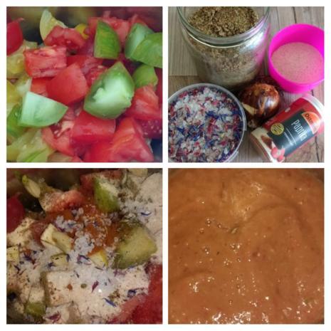 Gemüseleder aus bunten Tomaten (Reste) - Rezept - Bild Nr. 7857
