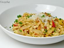 Spargel-Tomaten-Dinkel-Tagliatelle - Rezept - Bild Nr. 6
