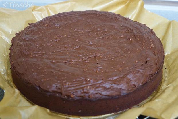 Schoko-Brownie-Kuchen - Rezept - Bild Nr. 7908