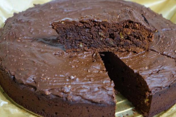 Schoko-Brownie-Kuchen - Rezept - Bild Nr. 7910