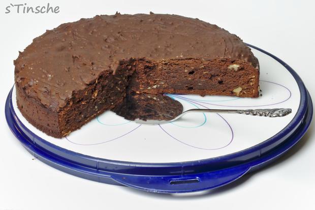 Schoko-Brownie-Kuchen - Rezept - Bild Nr. 7911