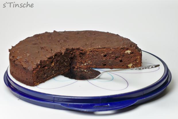 Schoko-Brownie-Kuchen - Rezept - Bild Nr. 7912