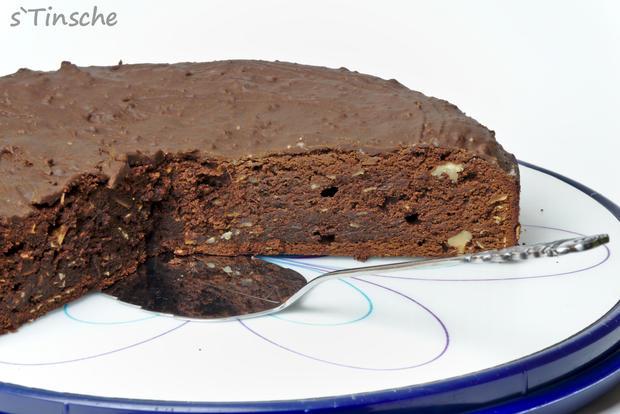 Schoko-Brownie-Kuchen - Rezept - Bild Nr. 7913
