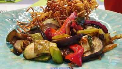 Rezept: Gemüsepfanne mit viel Aroma