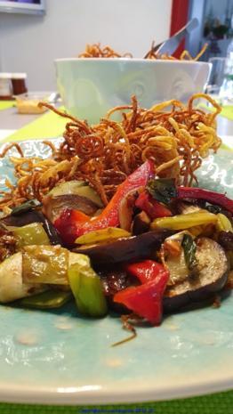 Gemüsepfanne mit viel Aroma - Rezept - Bild Nr. 7911
