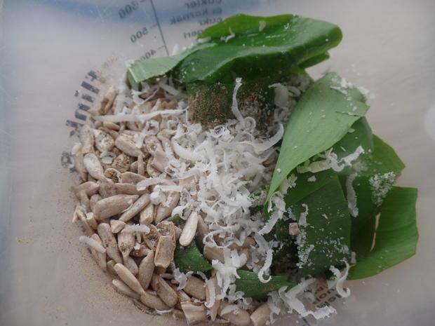Gnocchi mit Spargel und Bärlauch -Pesto - Rezept - Bild Nr. 7916