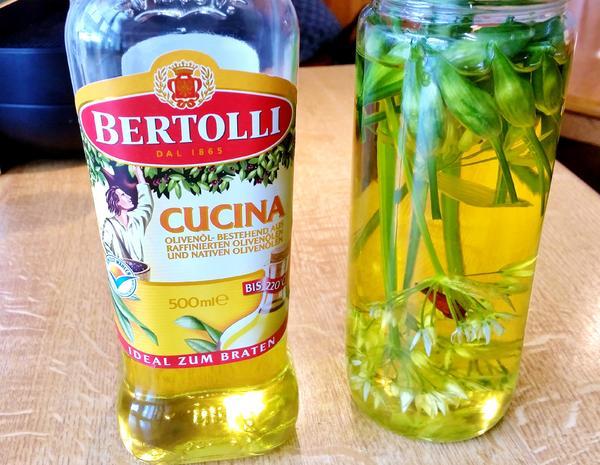 Bärlauch-Öl - Rezept - Bild Nr. 2