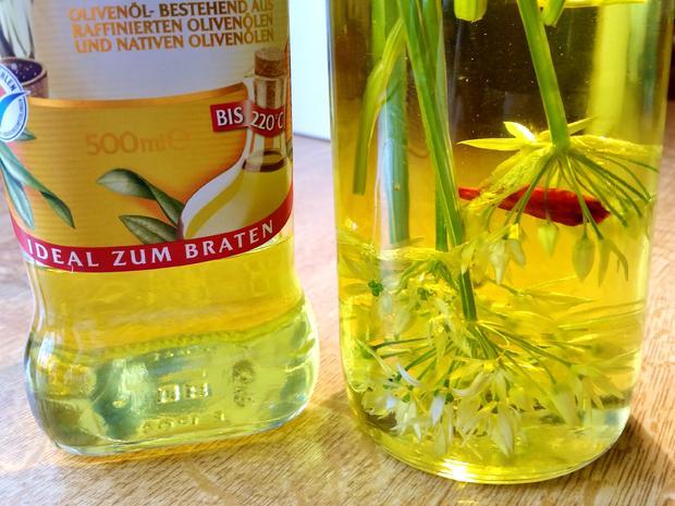 Bärlauch-Öl - Rezept - Bild Nr. 3