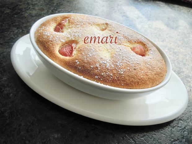Erdbeer Marzipan Auflauf - Rezept - Bild Nr. 7958