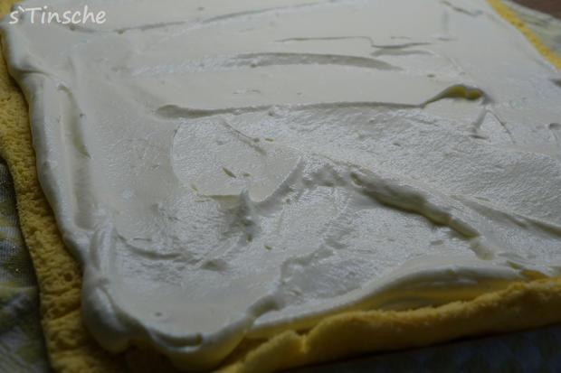Erbeer-Sahne-Biskuitroulade - Rezept - Bild Nr. 7953