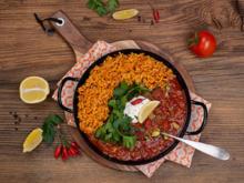 Chili con Carne mit Reis - Rezept - Bild Nr. 7960