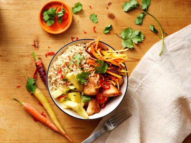 Hähnchen-Reis-Bowl - Rezept - Bild Nr. 3