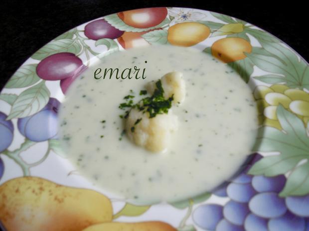 Carola's feine Karfiol Creme Suppe - Rezept - Bild Nr. 8103