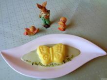 Eierlikör - Schokoladen - Pudding auf Pistazien - Soßenspiegel - Rezept - Bild Nr. 7957