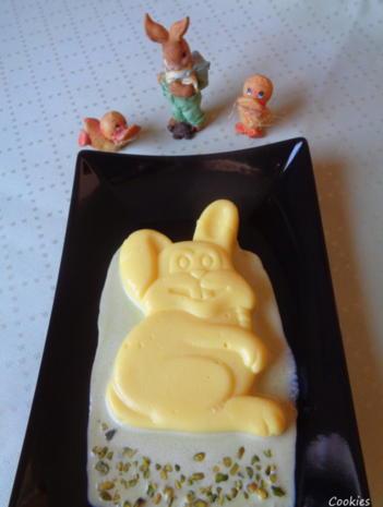 Eierlikör - Schokoladen - Pudding auf Pistazien - Soßenspiegel - Rezept - Bild Nr. 7960