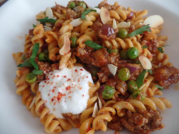 Orientalische Kichererbsen-Pasta - Rezept - Bild Nr. 7957
