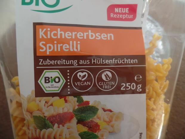 Orientalische Kichererbsen-Pasta - Rezept - Bild Nr. 7961