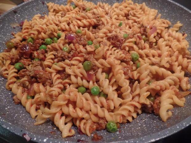 Orientalische Kichererbsen-Pasta - Rezept - Bild Nr. 7971