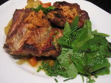 Salate: Giersch-Schnittlauch-Salat - Rezept - Bild Nr. 7958