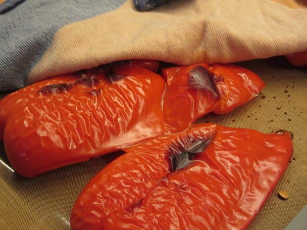 Gemüse: Involtini di peperoni (Sizilien/Lipari) - Rezept - Bild Nr. 7980
