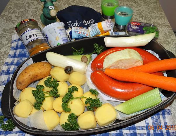 Cremige Curry-Kartoffelsuppe - Rezept - Bild Nr. 7979