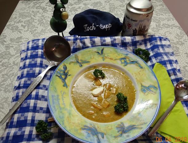 Cremige Curry-Kartoffelsuppe - Rezept - Bild Nr. 7980