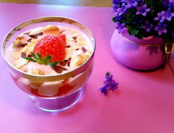 Marinierte Erdbeeren mit Honig-Joghurt - Rezept - Bild Nr. 7980