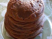 Frühstück: Vegane Schoko-Pfannkuchen - Rezept - Bild Nr. 2
