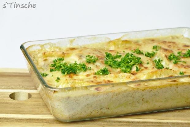 Kartoffel-Lachs-Auflauf - Rezept - Bild Nr. 7984