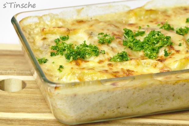 Kartoffel-Lachs-Auflauf - Rezept - Bild Nr. 7985