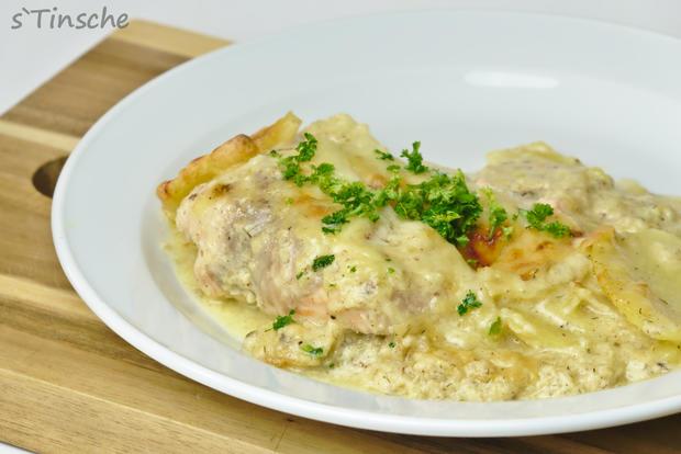 Kartoffel-Lachs-Auflauf - Rezept - Bild Nr. 7989