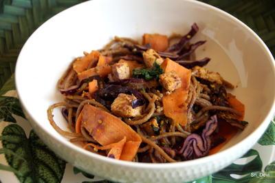 Sobanudel-Tofu-Salat - Rezept - Bild Nr. 2