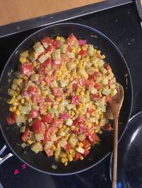 Rezept: Scharfe Gemüsepfanne