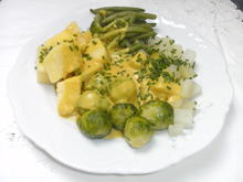 Gemüseteller mit Senfsoße - Rezept - Bild Nr. 8010