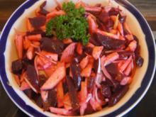 Rote-Bete-Zwiebel-Apfel-Salat - Rezept - Bild Nr. 8025