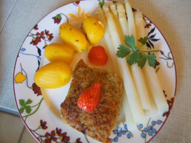 Schlemmerfilet mit Spargel und Kartoffeln - Rezept - Bild Nr. 12