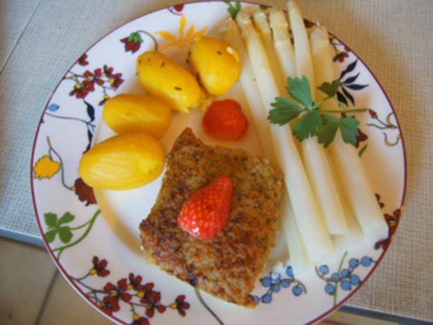 Schlemmerfilet mit Spargel und Kartoffeln - Rezept - Bild Nr. 13