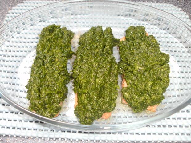 Lachs mit Selleriepüree und Käsehaube - Rezept - Bild Nr. 4