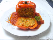Gefüllte Paprika mit Couscousfüllung - Rezept - Bild Nr. 2