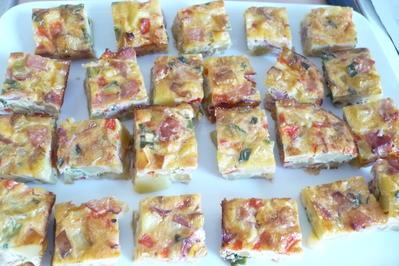 Rezept: Frittata mit Schinken