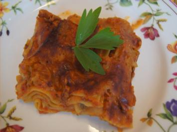 Lasagne mit Pilzen - Rezept - Bild Nr. 2