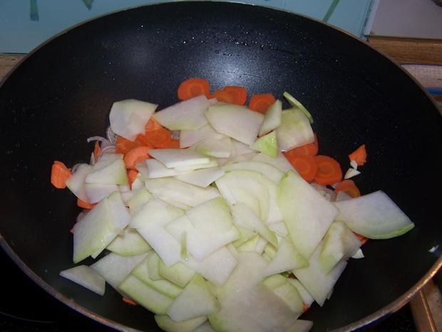 Spargel-Kohlrabi-Karotten-Schinken-Gratin - Rezept - Bild Nr. 8066